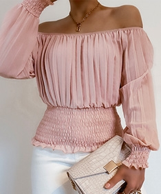 Passion Pleated Top