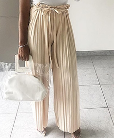 Passion Pleated Maxi Pants