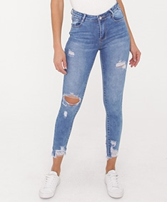 All Day Long Ripped Skinny