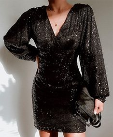 Timeless Sequin Dress