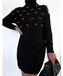 Dreams Of Pearls Knit Dress